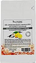 """Parfumuri și produse cosmetice Sare de baie din Himalaya """"Vanilie și Lămâie"""" - E-fiore Himalayan Salt With Oils Sensual Vanilla With Lemon"""