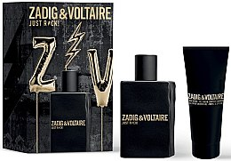 Parfumuri și produse cosmetice Zadig & Voltaire Just Rock! For Him - Set (edt/50ml + s/g/100ml)