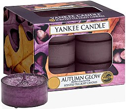Parfumuri și produse cosmetice Lumânări pastile - Yankee Candle Scented Tea Light Candles Autumn Glow