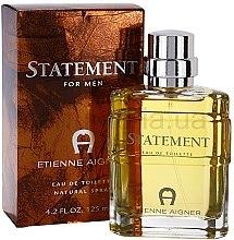 Parfumuri și produse cosmetice Etienne Aigner Statement - Apa de toaletă