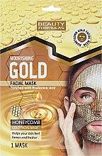 Parfumuri și produse cosmetice Mască nutritivă pentru față - Beauty Formulas Gold Norishing Facial Mask