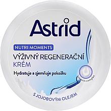 Parfumuri și produse cosmetice Cremă nutritivă pentru regenerarea pielii - Astrid Nutri Moments Nourishing Regenerating Cream