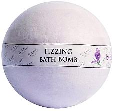 """Parfumuri și produse cosmetice Bombă de baie """"Lavandă"""" - Kanu Nature Bath Bomb Lavender"""