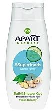 Parfumuri și produse cosmetice Gel de duș  - Apart Natural Superfoods Cucumber and Ginger