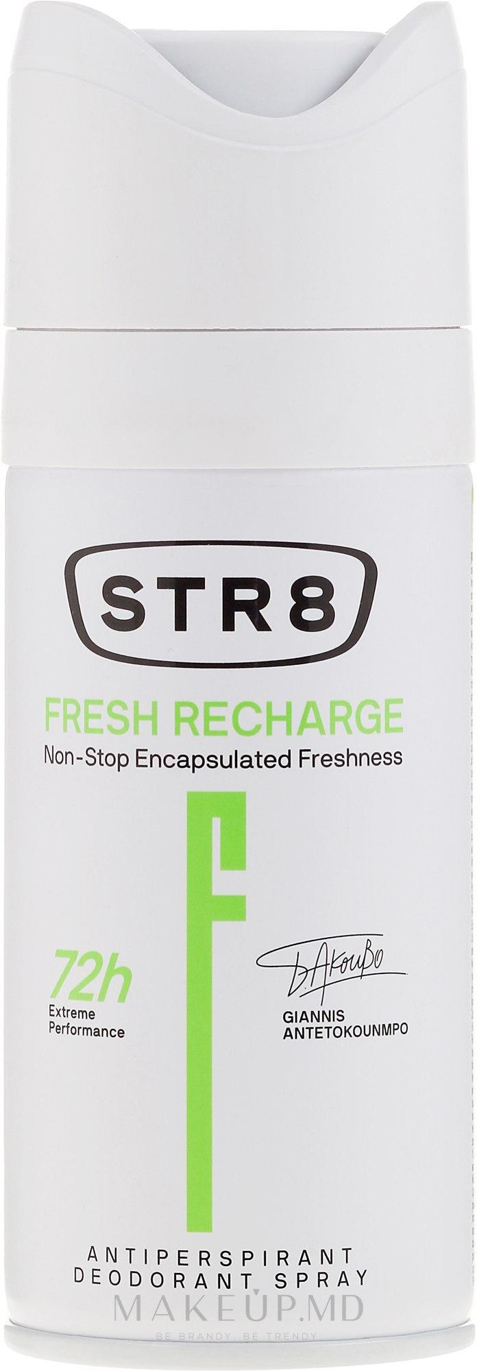 Deodorant - STR8 Fresh Recharge Antiperspirant Deodorant Spray — Imagine 150 ml