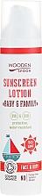 Parfumuri și produse cosmetice Loțiune de protecție solară - Wooden Spoon Organic Sunscreen Lotion Baby & Family SPF 50