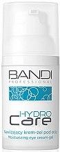Духи, Парфюмерия, косметика Увлажняющий крем-гель для контура глаз - Bandi Professional Hydro Care Moisturizing Eye Cream-Gel