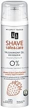 Parfumuri și produse cosmetice Gel de ras cu extract de căpșuni - AA Shave Safe & Care Strawberry Shaving Gel