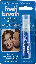 """Parfumuri și produse cosmetice Spray pentru cavitatea bucală """"Mentă"""" - Fresh Breath"""