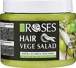 Parfumuri și produse cosmetice Mască regenerantă pentru păr uscat și tratat chimic - Nature of Agiva Olives Liquid Gold Hair Mask