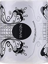 """Parfumuri și produse cosmetice Șabloane pentru alungirea unghiilor """"Fluture"""", 100 bucăți - NeoNail Professional"""
