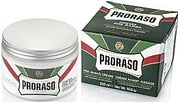 Parfumuri și produse cosmetice Cremă de ras cu mentă și eucalipt - Proraso Green Pre Shaving Cream