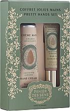 Parfumuri și produse cosmetice Set - Panier Des Sens Pretty Hands Set (nail/oil/7,5ml + h/cream/30ml)