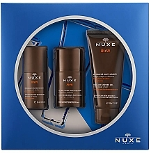 Parfumuri și produse cosmetice Set - Nuxe Men (deo/50ml + f/gel/50ml + sh/gel/100ml)