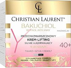 Parfumuri și produse cosmetice Интенсивный укрепляющий крем против морщин 40+ - Christian Laurent Bakuchiol Retinol Lifting Cream