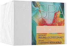 Parfumuri și produse cosmetice Scrub de curățare pentru corp - Dr Irena Eris Spa Resort Tahiti Cleansing Body Scrub