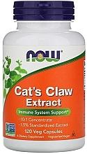 "Parfumuri și produse cosmetice Capsule ""Extract de gheara mâței"" - Now Foods Cat's Claw Extract"