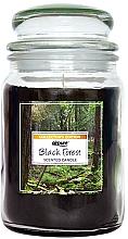 """Parfumuri și produse cosmetice Lumânăre parfumată """"Pădure Neagră"""" - Airpure Jar Scented Candle Black Forest"""
