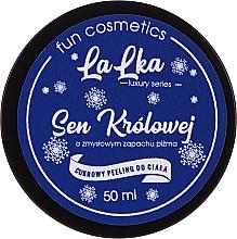 """Parfumuri și produse cosmetice Scrub de zahăr pentru corp """"The Queen's Dream"""" - Lalka"""