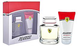 Parfumuri și produse cosmetice Ferrari Scuderia - Set (edt/75ml+sh/gel/150ml)