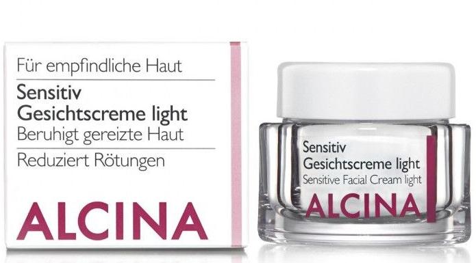 Cremă hidratantă pentru pielea sensibilă - Alcina S Sensitive Facial Cream Light — Imagine N1