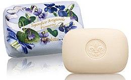 "Parfumuri și produse cosmetice Săpun natural ""Flori albe"" - Saponificio Artigianale Fiorentino Bouquet of Violet Flowers Soap"