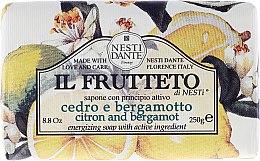 Parfumuri și produse cosmetice Săpun cu lămâie și bergamot - Nesti Dante Il Frutteto Soap