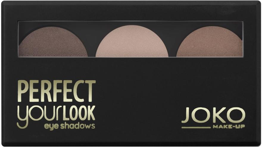 Fard de pleoape, trei culori - Joko Perfect Your Look Trio Eye Shadows