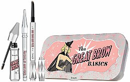 Parfumuri și produse cosmetice Set pentru sprâncene - Benefit The Great Brow Basics (brow/gel/3g+brow/pencil/0.17g+brow/pencil/mini/0.04g) (02 -Light)