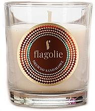 """Parfumuri și produse cosmetice Lumânare aromatică """"Lemn de santal"""" - Flagolie Fragranced Candle Sandalwood"""