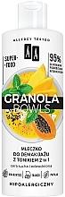 Parfumuri și produse cosmetice Lapte-toner demachiant pentru pielea sensibilă și deshidratată - AA Granola Bowls Makeup Remover Milk And Tonic 2 in 1