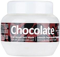 Parfumuri și produse cosmetice Masca pentru păr deteriorat și uscat - Kallos Cosmetics Chocolate Mask