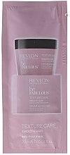 Parfumuri și produse cosmetice Masca pentru netezirea părului - Revlon Professional Be Fabulous Smooth Hair Anti-frizz Mask (mostră)