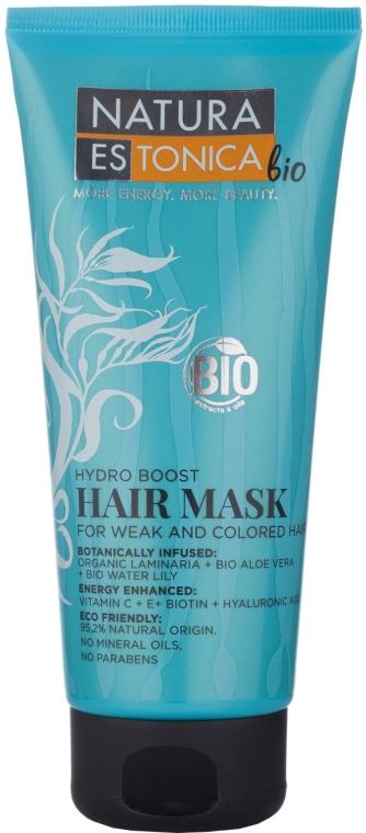 """Mască pentru păr slab și vopsit """"Hidratare intensă"""" - Natura Estonica Hydro Boost Hair Mask"""