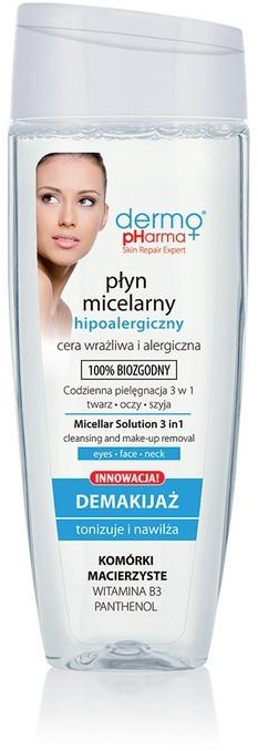 Apă micelară - Dermo Pharma Micellar Solution 3 in 1 — Imagine N1