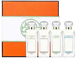 Parfumuri și produse cosmetice Hermes Miniature Set Garden - Set (edt/7.5ml + edt/7.5ml + edt/7.5ml + edt/7.5ml)