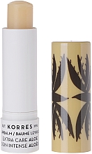 """Parfumuri și produse cosmetice Balsam de buze """"Aloe"""" - Korres Lip Balm Extra Care Aloe Stick"""
