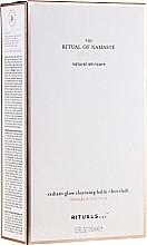 Parfumuri și produse cosmetice Set - Rituals The Ritual Of Namaste Radiant Glow (f/balm/100ml + towel/1)