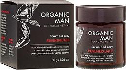 Parfumuri și produse cosmetice Ser regenerant pentru ochi - Organic Life Dermocosmetics Man