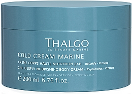 Parfumuri și produse cosmetice Cremă bogată și revitalizantă pentru corp - Thalgo Cold Cream Marine Deeply Nourishing Body Cream