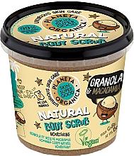 """Parfumuri și produse cosmetice Scrub pentru corp """"Granola și Macadamia"""" - Planeta Organica Granola & Macadamia Body Scrub"""