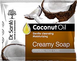 Parfumuri și produse cosmetice Săpun-cremă cu ulei de cocos pentru față - Dr.Sante Cream Soap