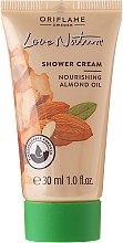 """Parfumuri și produse cosmetice Cremă de duș """"Migdale"""" - Oriflame Love Nature Shower Cream (Mini)"""