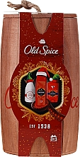 Parfumuri și produse cosmetice Set - Old Spice Captain Wooden (deo/50g + sh/gel/250ml + ash/lot/100ml)