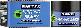 "Parfumuri și produse cosmetice Balsam anti-îmbătrânire pentru ochi ""Sleeping Beauty"" - Beauty Jar Anti-Age Night Eye Balm"