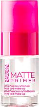 Parfumuri și produse cosmetice Baza de machiaj cu efect matifiant - Gabriella Salvete Matte Primer