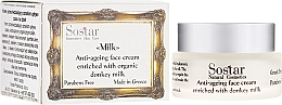 Parfumuri și produse cosmetice Cremă anti-îmbătrânire pentru față - Sostar Anti-ageing Face Cream Enriched With Donkey Milk