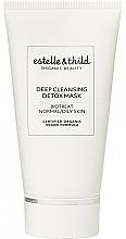 Parfumuri și produse cosmetice Mască detoxifiantă de curățare pentru față - Estelle & Thild BioTreat Deep Cleansing Detox Mask