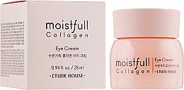 Parfumuri și produse cosmetice Cremă cu colagen pentru pielea din jurul ochilor - Etude House Moistfull Collagen Eye Cream