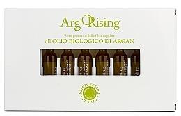 Parfumuri și produse cosmetice Loțiune fito-esențială cu de ulei de argan pentru păr uscat, în fiole - Orising ArgORising